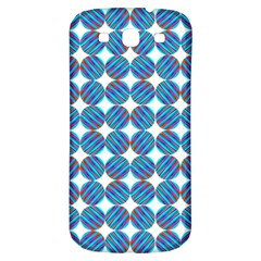 Geometric Dots Pattern Rainbow Samsung Galaxy S3 S Iii Classic Hardshell Back Case by Nexatart
