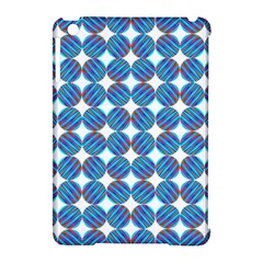 Geometric Dots Pattern Rainbow Apple Ipad Mini Hardshell Case (compatible With Smart Cover) by Nexatart