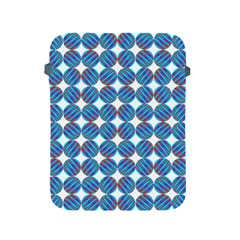 Geometric Dots Pattern Rainbow Apple Ipad 2/3/4 Protective Soft Cases by Nexatart