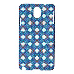 Geometric Dots Pattern Rainbow Samsung Galaxy Note 3 N9005 Hardshell Case by Nexatart