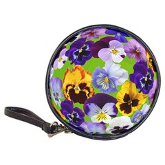 Spring Pansy Blossom Bloom Plant Classic 20 Cd Wallets by Nexatart