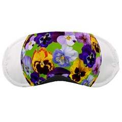 Spring Pansy Blossom Bloom Plant Sleeping Masks by Nexatart