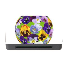 Spring Pansy Blossom Bloom Plant Memory Card Reader With Cf by Nexatart