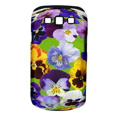 Spring Pansy Blossom Bloom Plant Samsung Galaxy S Iii Classic Hardshell Case (pc+silicone) by Nexatart