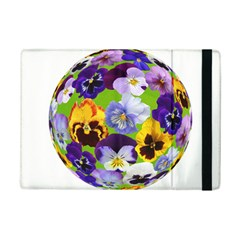 Spring Pansy Blossom Bloom Plant Ipad Mini 2 Flip Cases by Nexatart
