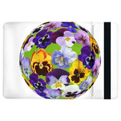 Spring Pansy Blossom Bloom Plant Ipad Air 2 Flip by Nexatart