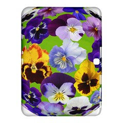 Spring Pansy Blossom Bloom Plant Samsung Galaxy Tab 4 (10 1 ) Hardshell Case  by Nexatart