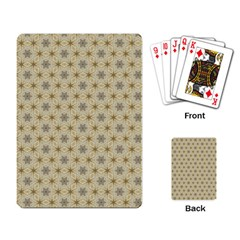 Star Basket Pattern Basket Pattern Playing Card