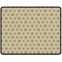 Star Basket Pattern Basket Pattern Fleece Blanket (medium)