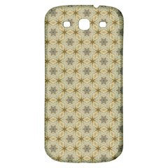 Star Basket Pattern Basket Pattern Samsung Galaxy S3 S Iii Classic Hardshell Back Case by Nexatart