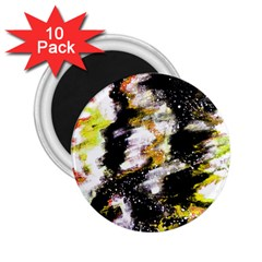 Canvas Acrylic Digital Design 2 25  Magnets (10 Pack)