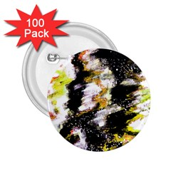 Canvas Acrylic Digital Design 2 25  Buttons (100 Pack)