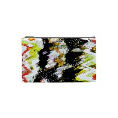 Canvas Acrylic Digital Design Cosmetic Bag (small)  by Nexatart