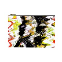 Canvas Acrylic Digital Design Cosmetic Bag (large)  by Nexatart