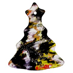 Canvas Acrylic Digital Design Christmas Tree Ornament (two Sides)