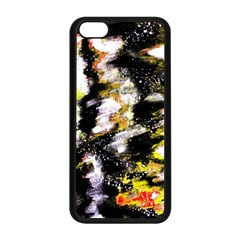 Canvas Acrylic Digital Design Apple Iphone 5c Seamless Case (black)