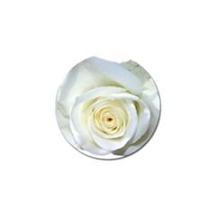 Flower White Rose Lying Golf Ball Marker by Nexatart