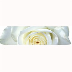 Flower White Rose Lying Large Bar Mats