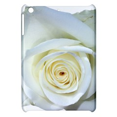 Flower White Rose Lying Apple Ipad Mini Hardshell Case by Nexatart