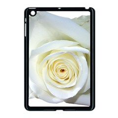 Flower White Rose Lying Apple Ipad Mini Case (black) by Nexatart