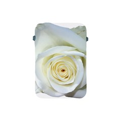 Flower White Rose Lying Apple Ipad Mini Protective Soft Cases by Nexatart