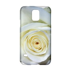 Flower White Rose Lying Samsung Galaxy S5 Hardshell Case