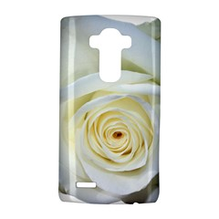 Flower White Rose Lying Lg G4 Hardshell Case by Nexatart