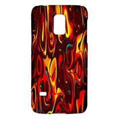 Effect Pattern Brush Red Orange Galaxy S5 Mini