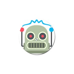 Robot Golf Ball Marker by BestEmojis