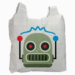 Robot Recycle Bag (one Side) by BestEmojis