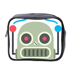 Robot Mini Toiletries Bag 2 Side