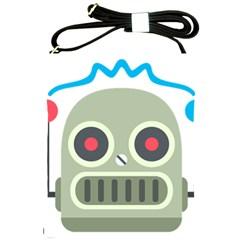 Robot Shoulder Sling Bags by BestEmojis
