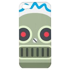 Robot Apple Iphone 5 Hardshell Case by BestEmojis