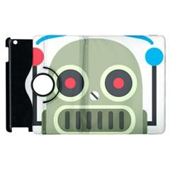 Robot Apple Ipad 2 Flip 360 Case by BestEmojis