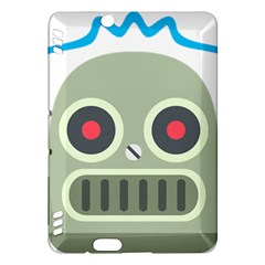 Robot Kindle Fire Hdx Hardshell Case by BestEmojis