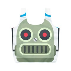 Robot Full Print Recycle Bags (m)  by BestEmojis