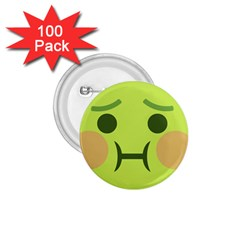 Barf 1 75  Buttons (100 Pack)  by BestEmojis