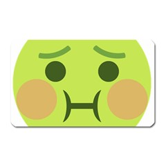 Barf Magnet (rectangular) by BestEmojis
