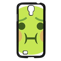 Barf Samsung Galaxy S4 I9500/ I9505 Case (black) by BestEmojis