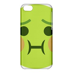 Barf Apple Iphone 5c Hardshell Case by BestEmojis