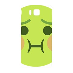 Barf Samsung Galaxy Alpha Hardshell Back Case by BestEmojis