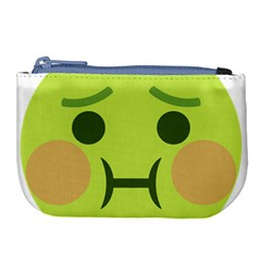 Barf Large Coin Purse by BestEmojis