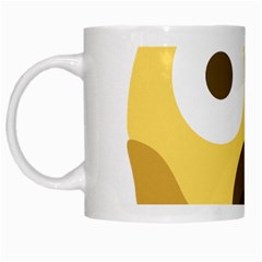 Scream Emoji White Mugs by BestEmojis