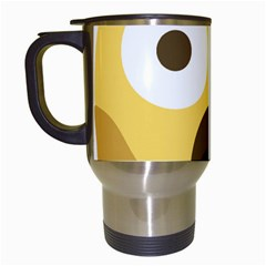 Scream Emoji Travel Mugs (white) by BestEmojis