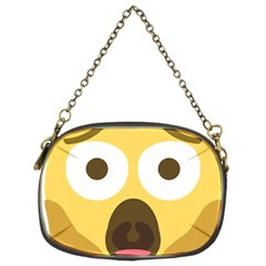 Scream Emoji Chain Purses (two Sides)  by BestEmojis
