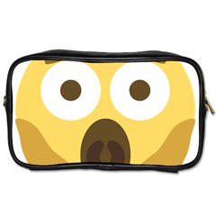 Scream Emoji Toiletries Bags by BestEmojis