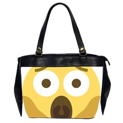 Scream Emoji Office Handbags (2 Sides)  by BestEmojis