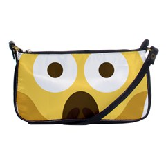Scream Emoji Shoulder Clutch Bags by BestEmojis