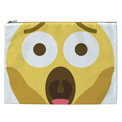 Scream Emoji Cosmetic Bag (xxl)