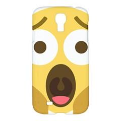 Scream Emoji Samsung Galaxy S4 I9500/i9505 Hardshell Case by BestEmojis